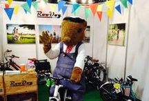 Ratty / See what antics our beloved mascot La'al Ratty the Watervole station master gets up to, whether it's meeting and greeting children in Ravenglass to making public appearances, he can be a cheeky chappy!