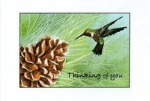 Thinking of You / Greeting cards for nearly any occasion. The originals were painted in watercolor or acrylic. All are blank inside but personalizing is available. Happy to answer any questions you might have at mickey@mickeybaxterspade.com