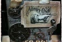 Tim Holtz & Tammy Tutterow / Techniques and crafts I would like to try out-make!
