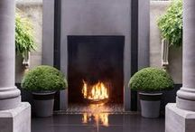 accents: Fireplaces / by ART of LIVING by Sotheby's International Realty