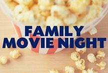 Family Movie Night / Fun ideas to make your movie night in a night to remember.