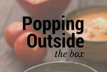 Popping Outside the Box / Cool ideas for people as obsessed with popcorn as we are! / by Kernel Season's