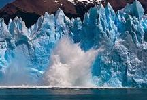 Water - Frozen / Ice, Glaciers, and Icebergs / by Samantha