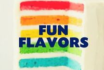 Fun and Fancy Flavors / Sweet, Sour, Spicy, Savory, Creative, Original, New, Old...if it's got FLAVOR we're a FAN. :)