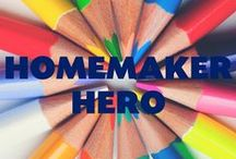 Homemaker Hero / Hey there, Stay-At-Home Moms! Keeping your house running like a well oiled machine is a monster of a task. Follow this board to find a way to make life a little easier being queen.  / by Kernel Season's