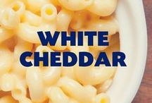 White Cheddar / One of the yummy flavors that inspires our seasoning.