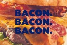 Bacon. Bacon. Bacon. / One of our FAVORITE flavors, as featured in our Bacon Cheddar seasoning. YUM.