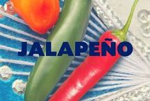 Jalapeño / Deliciously spicy and full flavor that really brings the heat! As featured in our Cheesy Jalapeño seasoning.