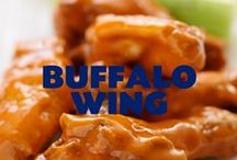Buffalo Wing / Hot & Spicy and just the way we like it. This board is dedicated to one of our sizzling flavors... Buffalo Wing