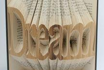 Book Folding Art / Paper