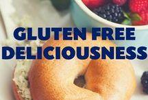 Gluten Free Deliciousness / It may be gluten free, but it definitely isn't yummy free!