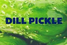 Dill Pickle / Like the pickles you love, this board is inspired by our Dill Pickle seasoning. A new twist on a classic flavor of real dill with the tanginess of vinegar.   / by Kernel Season's