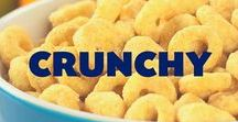 Crunchy / Inspired by our newest product Crunchin' Kernels! The perfect snack time crunch!