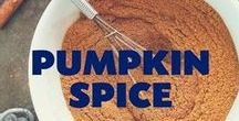 Pumpkin Spice /  The flavors of Fall are here and we couldn't be more excited!