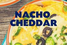 Nacho Cheddar / Tortilla chips shouldn't have all the fun. Our Nacho Cheddar seasoning is inspired by our favorite snack. Blends of real cheddar cheese and select spices gives your popcorn the spicy kick you love.