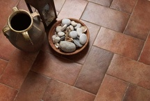 Terracotta, Reinterpreted / Inspired by the warmth and charm of terracotta, many Italian tile companies are reinterpreting this ancient material in unconventional sizes, colors and finishes.