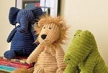 Stuffed Animals  / I love stuffed animals.