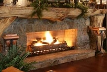 Fire Places / My favorite place to sit is in front of a nice fire place. I love to curl up on the couch with hot cocoa and read a book or listen to classical music.