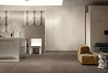 Size Matters! Large-Format Porcelain Tiles / Super thin tiles and giant porcelain slabs are two innovations pioneered by Italian manufacturers whose popularity continues to grow. Whether thick or thin, large format porcelain tiles create sleek and sophisticated spaces by covering the maximum amount of surface with minimal grout lines.