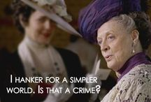 Downton to larkrise oh my! / by Cathy Hill