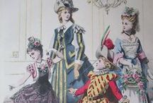 Victorian Fancy Dress / Those crazy Victorians! They knew how to have a good time :)