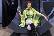 Endor Leia Cosplay
