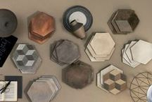 Hexalove / In terms of shapes, it's undoubtedly the year of the hexagon. A far cry from traditional hexagonal tiling, this new crop includes macro and micro sizes, rhombille tiling effects, irregular cutouts, and encaustic, concrete, marble, wood and brick designs.