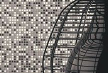Modern Mosaics / Innovative mosaics are popping up everywhere – from playing with the dimensions of traditional penny, hexagon and brick mosaics to introducing completely new formats such as linear, diamond and organic shaped tesserae.