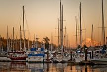 Gig Harbor, WA / Beautiful little harbor town located on the Olympic Peninsula of Washington State.