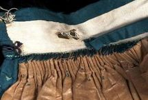 Inside Historical Garments / Pictures of the insides of original historical garments, showing the construction details.