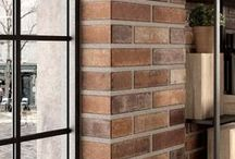 Hit the Bricks / Each season a shape naturally emerges as a tile industry favorite. In 2015 it was the hexagon; 2016 will be all about brick! From micro to macro, polished to rustic, and designs ranging from faithful interpretations of old brick walls and brick with mortar spills to painted brick and marble and wood designs in a brick format.