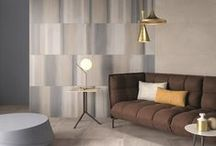 Soft Spot / There was an overwhelming warmth to the tile introductions this year, lending an undeniable softness to the hard surface. From designs with distressed and tactile effects (sandblasted marble, stripped wood and fabric) to warm shades, watercolor and velvety textures, it was a welcome reprieve from the minimal aesthetic of recent years.