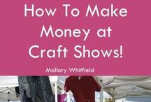 Craft Shows / Creative DIY display ideas, craft show booth photos and more inspiration for selling at art markets & craft shows!