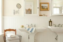 bathrooms / by Elizabeth Ripley Horn
