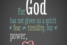 Favorite Quotes & Scripture