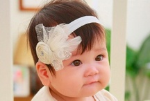 Handmade Baby Headbands ♥ / Couture one of a kind baby headbands you want for your little girl!