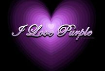 in a PURPLE world / I Love Purple!!  This is my tribute to all things PURPLE / by Christina Howard Davis