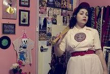 Retro Costume Ideas / Vintage inspired Halloween costume ideas from days gone by.