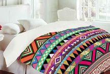 Unique Duvet Covers / Cool bedding inspiration.