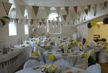 Our wedding grey & yellow / a few pics from our special day, married in Skirlaugh Church, East Ridings, reception at Village Hall