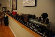 Man Caves...with trains / Tips for creating your own Man Cave.