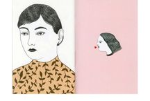 Art Crushes / Fine Art, Graphic Design, Illustration and the like.