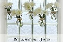 Mason Jars / The mason jar comes from humble beginnings, canning the harvest from beans to jam. Its an iconic symbol of farm life and the simple back to the basics life style that evokes. Mason jars can be collected or bought new on the cheap and creative's are using them in a myriad of ways. I think the Mason jar (or Atlas jar, etc.) deserves a board of its own. / by Diane Piwowarczyk