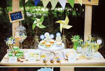 Party Ideas / Combination of my own parties and others that I adore