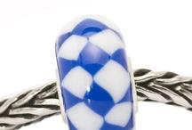 Troll Beads Red White n Blue