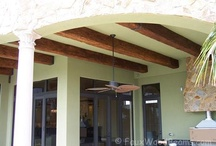 Design Ideas - Outdoor Living / Make your outdoor space as cozy and inviting as the inside of your home. Design ideas for outdoor living, many using low-maintenance materials so you can enjoy your free time. / by Faux Wood Beams