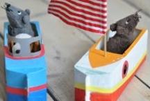 Stuff for the kids / by El Unicornio Feliz