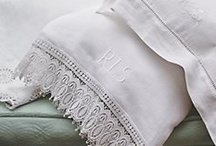 Vintage linens/fabric / by Patricia Houston Cupp