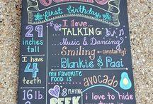 Ava's Birthday / by Jaime Thompson