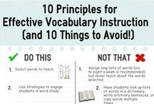 Éducation - vocabulaire